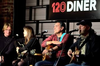 Nashville singer-songwriters at 120 Diner