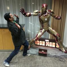 Iron Man attack