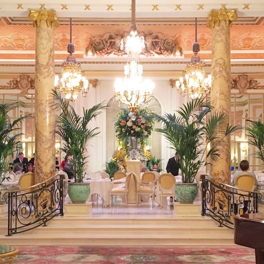 afternoon tea the ritz london palm court