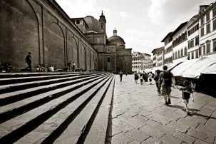 Streets of Firenze Italy