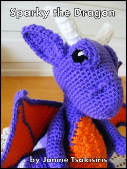Sparky the Dragon pattern available on Ravelry