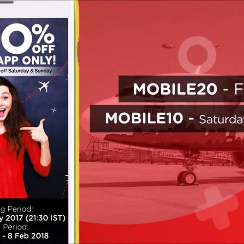 Mobile Promo Video | 20 percent off on domestic | AirAsia