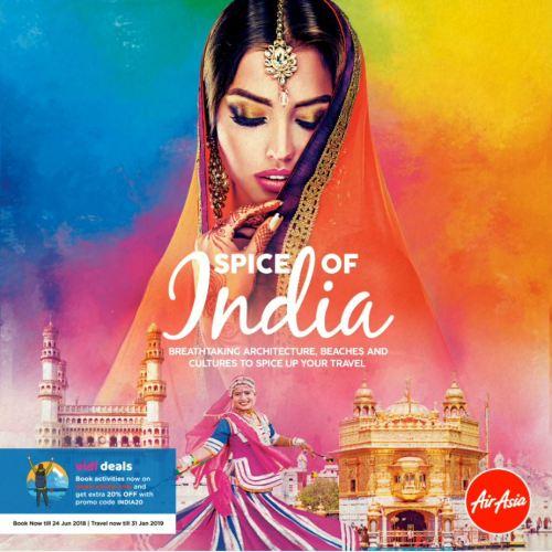 Spice of India AirAsia