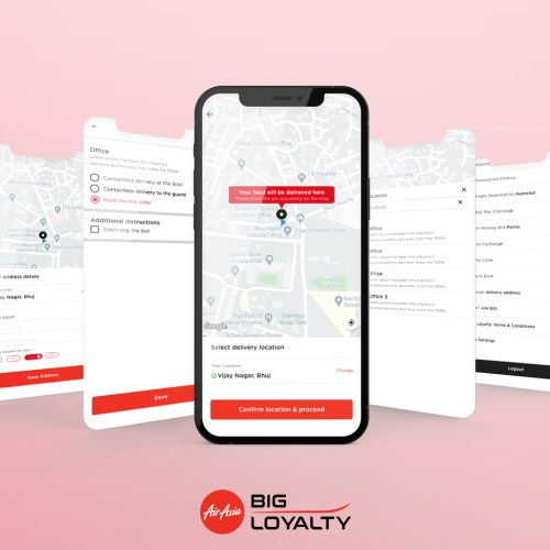 Address Book – AirAsia BIG Loyalty