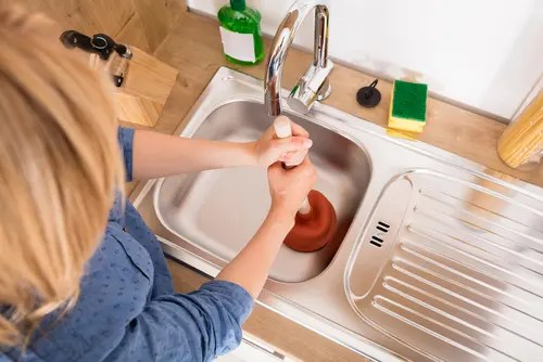 fixing a clogged drain when drano isn t