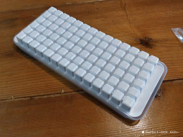 小さい氷を作る製氷皿【100円ショップ】
