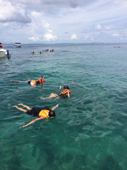 First Experience at Snorkelling and I was a happy kid!