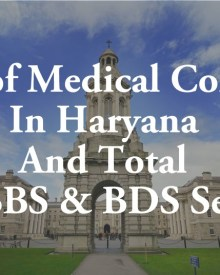 List of Medical Colleges In Haryana Total MBBS BDS Seats