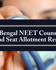 West Bengal NEET Counselling 1st Round Seat Allotment Result