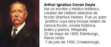 ArthurConan Doyle