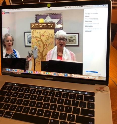 ZOOM Shabbat Rabbi Susan and Cantorial Soloist Susan