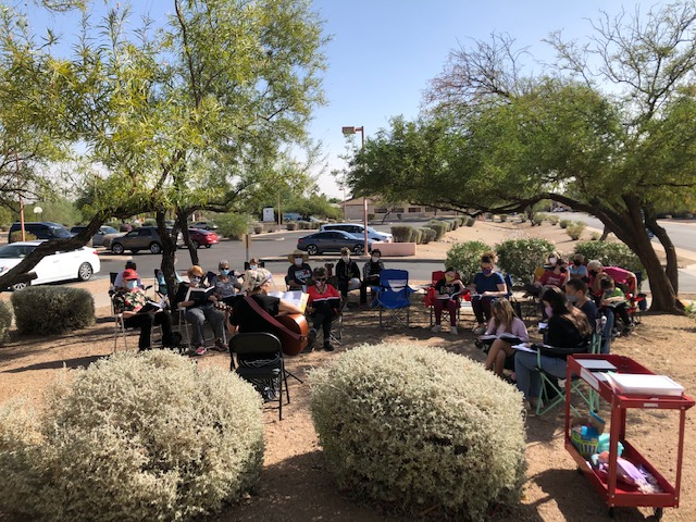 Outdoor Shabbat Service
