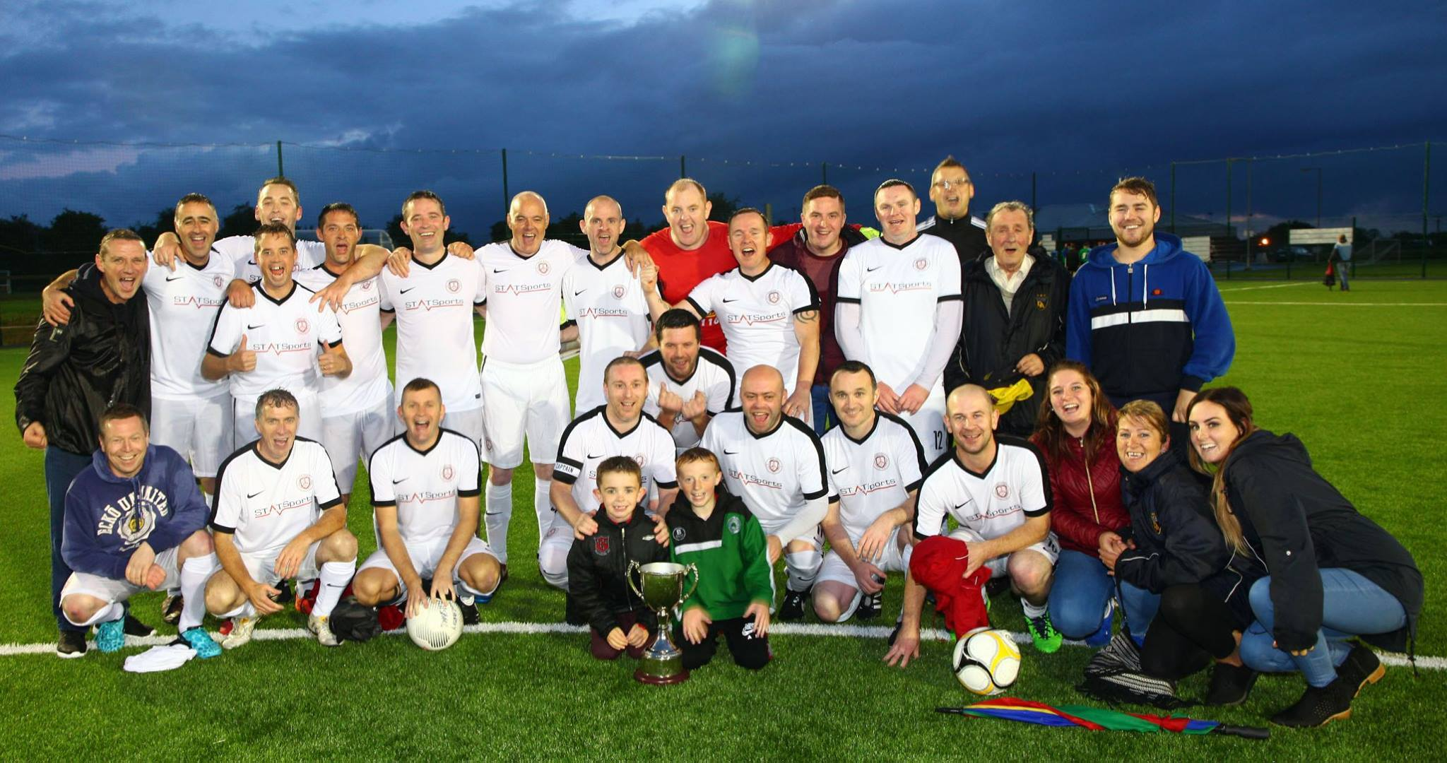 Doolargey All Stars cup winners over 35