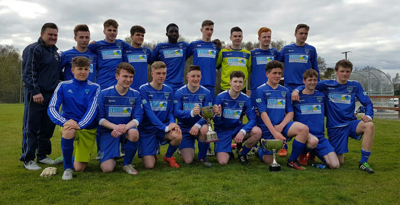 Glenmuir Youths cup league winners