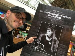 Mark Benecke am 25. WGT. (Quelle: http://home.benecke.com/wgt-impressionen)