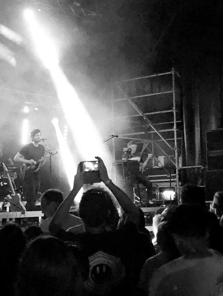 Apparat auf der Bühne am ROAM Festival 2019
