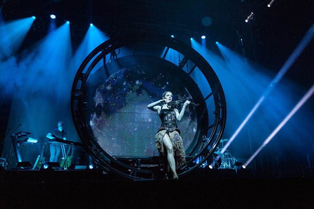 Lindsey Stirling in der Samsung Hall