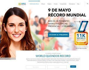 World Quondos Record ♛ 24 Horas de Marketing