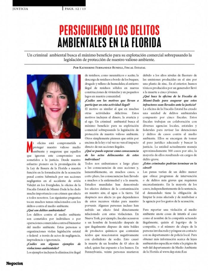 Fiscal Katherine Fernandez Rundle