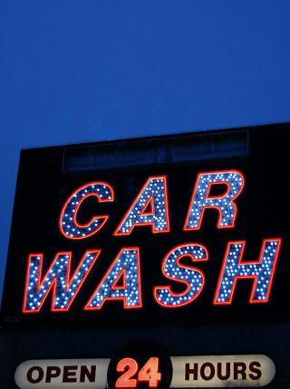 negocio de lavado de autos