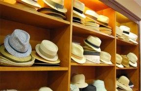montar una tienda de sombreros