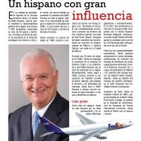 Juan Cento, presidente de Fedex Latinoamérica y el Caribe
