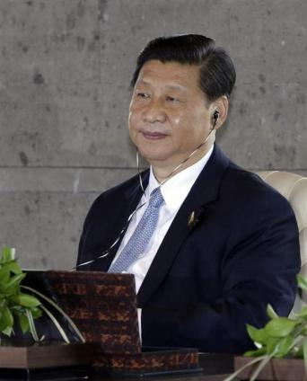 # 3 El presidente de China, Xi Jinping. EFE/Dita Alangkara / Pool