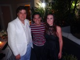 Eduardo Hapke, Ismael Cala y Karen Blanco.