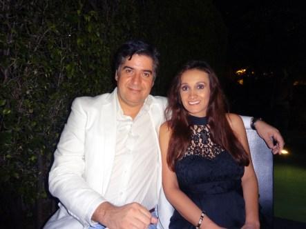 Eduardo Hapke y Karen Blanco.