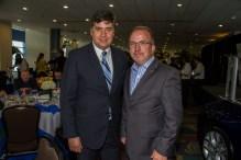 Eduardo Hapke y Steve Parrett