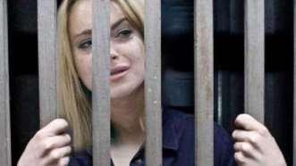 Lindsay Lohan. Detenida en 2007 por conducir en estado de ebriedad y posesión de cocaína .