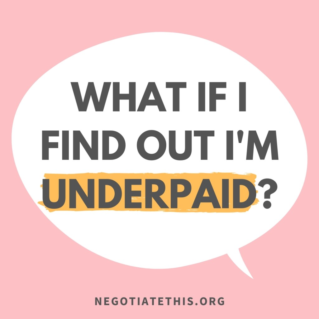 what if i find out i'm underpaid 7 steps