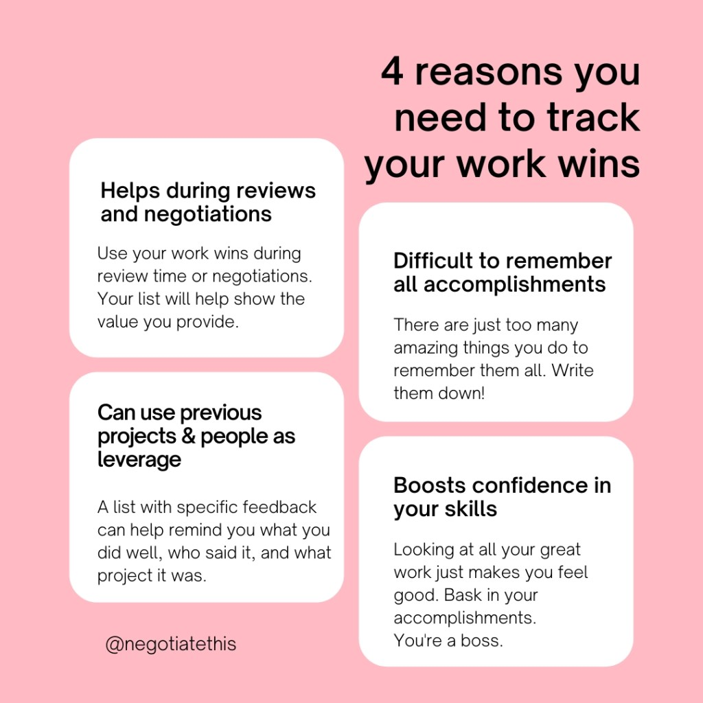 4 reasons you need to track your work wins