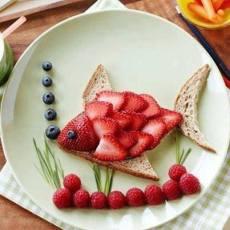 Плодова салата – рибка