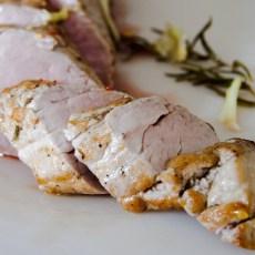 Как да сготвим бързо свинска рибица с билки