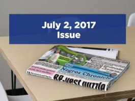 The Negros Chronicle Newspaper July 2, 2017 Issue