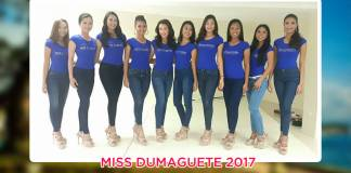 Miss Dumaguete 2017 press presentation