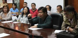 Typhoon Vinta DRRMC Meeting Dumaguete