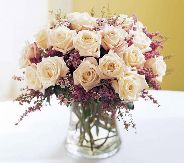 virág dekoráció -esküvő