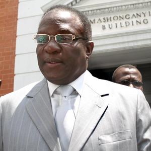 Defence Minister Emmerson Mnangagwa