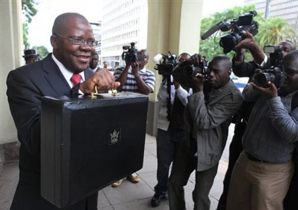 Tendai Biti about to present budget