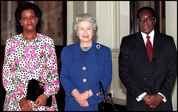 The symbiotic relationship between Mugabe and the British did not end with rhetorical support and money changing hands, but it extended to royal endorsement for Mugabe and his policies.