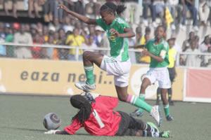 Mighty Warrior Rudo Neshamba skips a Zebra challenge