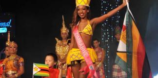 Former Miss Bulawayo Nadia Gori