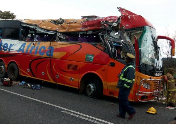 File picture of an Inter Africa bus involved in an accident