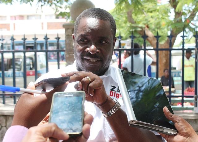 President Emmerson Mnangagwa's spokesman George Charamba