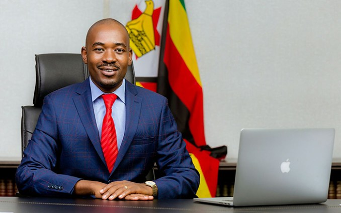 MDC-T president Nelson Chamisa