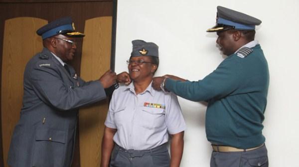 President promotes 10 AFZ officers – Nehanda Radio