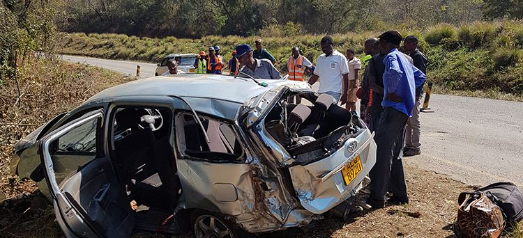 In August 2018, NINE people were seriously injured after a Toyota Wish pirate taxi headed for Mutare got involved in a nasty accident while descending the steep Christmas Pass