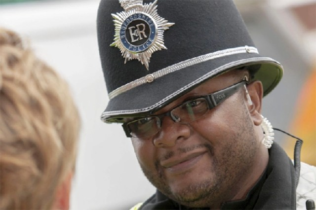 Taurayi Chamboko of Bedfordshire Police (Picture by Dunstable Today.co.uk)